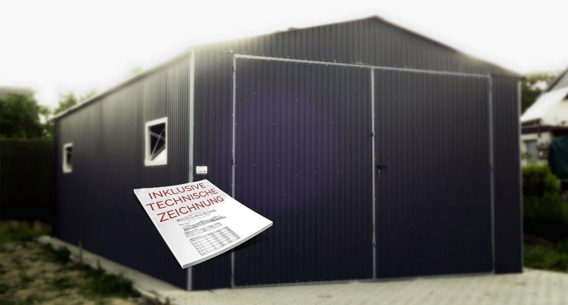 blechgaragen garagen mehrzweckhalle unterstellplatz f r auto boot und vieles mehr. Black Bedroom Furniture Sets. Home Design Ideas